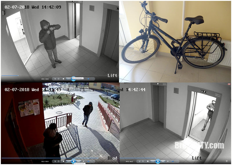Милицией разыскивается очевидец хищения седла велосипеда. Есть видео