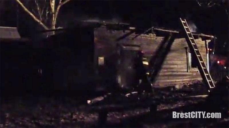 Пожар в Ивановском районе, д.Суловы: хозяин дома погиб (видео)