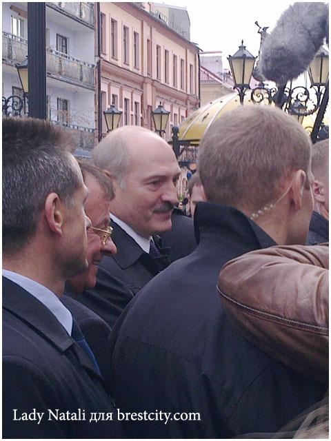 Президент Беларуси Лукашенко в Бресте