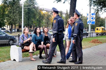 Акция молчаливого протеста в Бресте