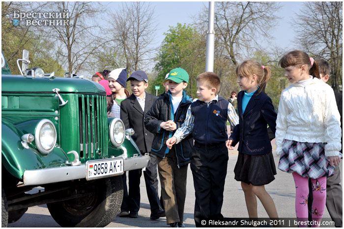 Международный автопробег на ретроавтомобилях