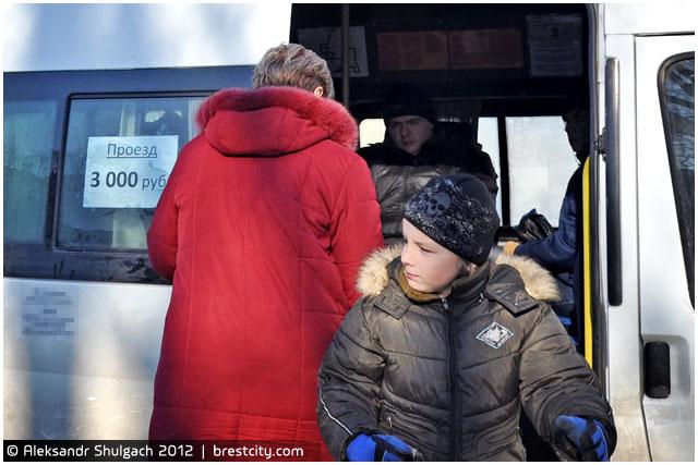 Стоимость проезда в  маршрутном такси увеличилась до трех тысяч