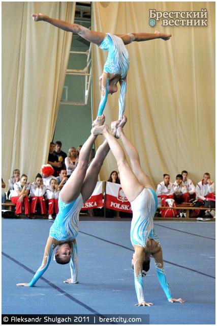 Международный турнир по спортивной акробатике