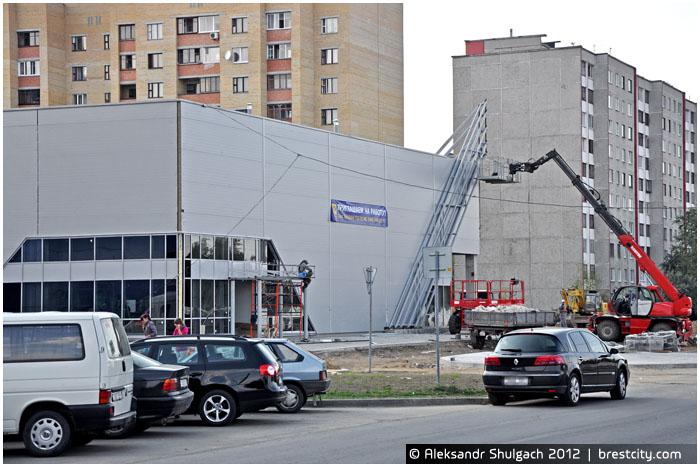 Магазин Евроопт на улице Ясеневой