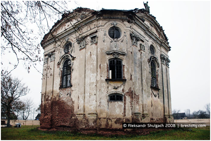 Костел Святой Троицы (Троицкий костел) в Волчине