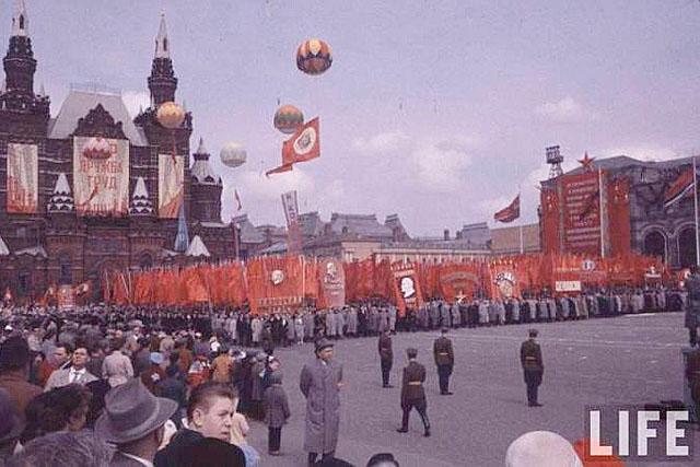 Как праздновали 1 мая в СССР