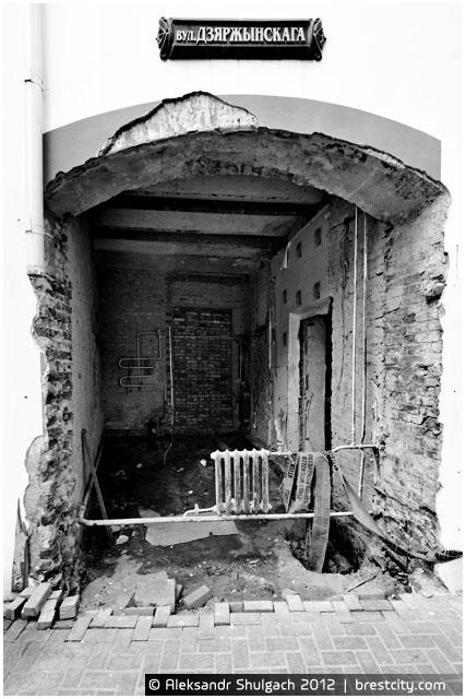 Секретная комната в Бресте на улице Дзержинского