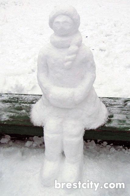 Снегурочка на Набережной