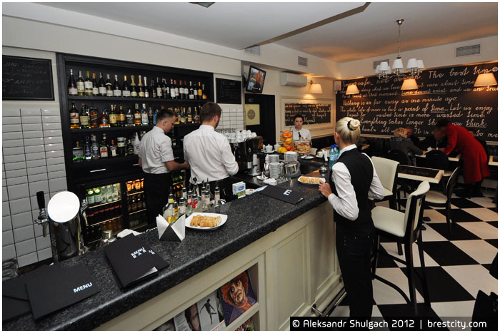 TIMES CAFE на улице Советской в Бресте