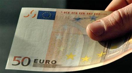 50 евро купюра