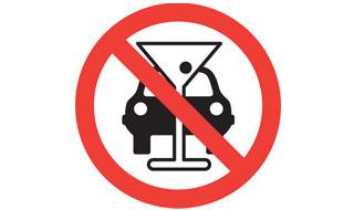 Знак пьяный водитель