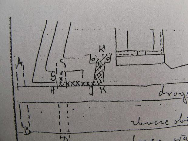 План-схема Брестского замка в крепости
