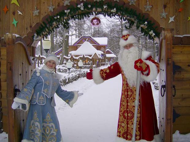 Поместье Деда Мороза в Беловежской пуще