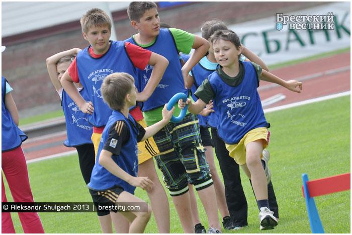 Турнир по детской легкой атлетике в Бресте