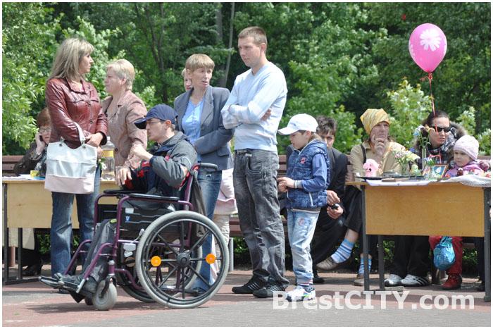 День инвалидов в Бресте. Городской парк