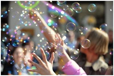 Парад мыльных пузырей 2013
