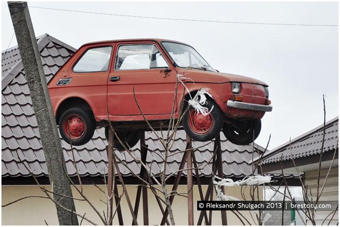 Парящий автомобиль. Фиат 126