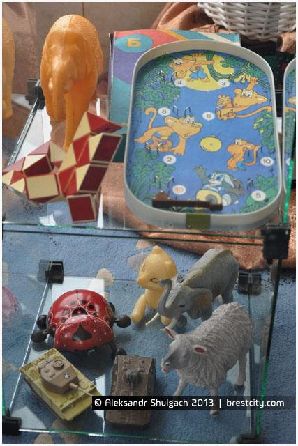 Детские игрушки времен СССР