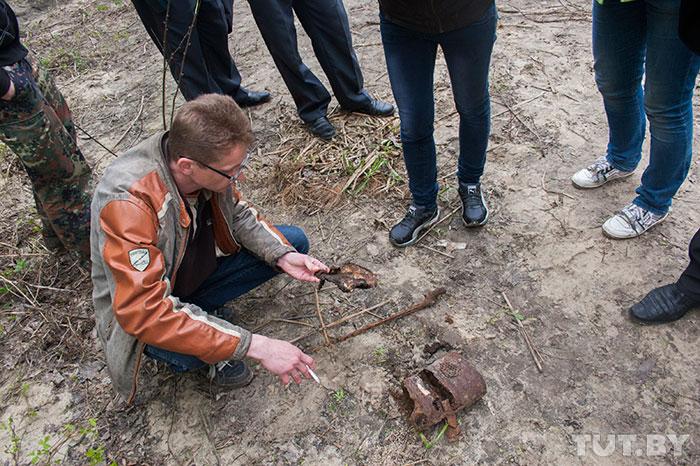 Человеческий череп обнаружен при строительстве моста возле Брестской крепости