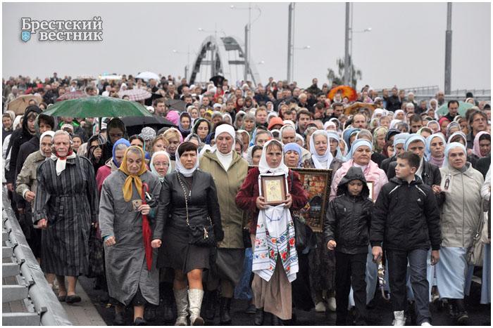 Крестный ход в Бресте 18 сентября 2013