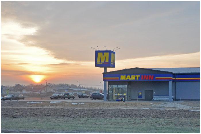 Магазин Мартинн на выезде из Бресте по ул. Костюшко, 1