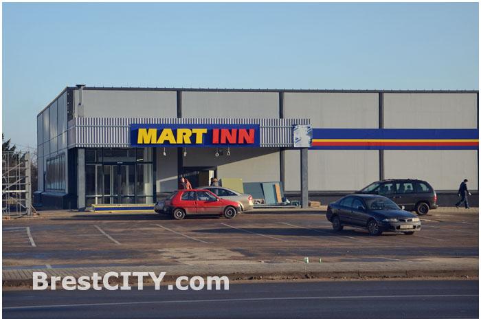 Магазин MARTINN в Бресте на улице Суворова (Ясеневая)