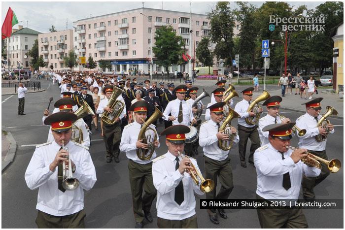 160 лет пожарной службе Республики Беларусь в Бресте
