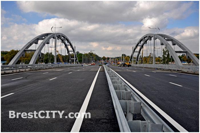 Открытие нового моста в Бресте. Западный обход