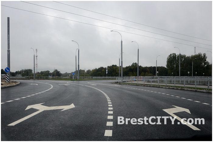 Западный обход в Брест. Новый мост открыт. Дорога