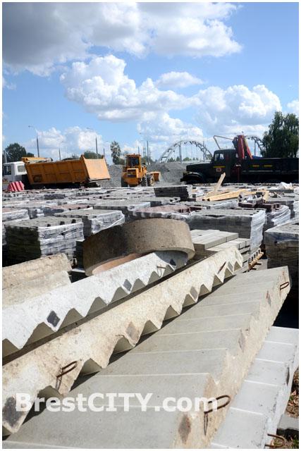 Строительство моста. Западный обход