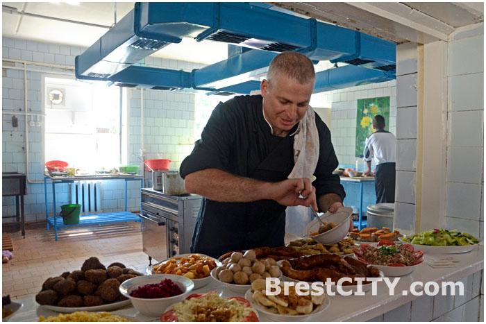 Зами Шрайбер, израильский повар