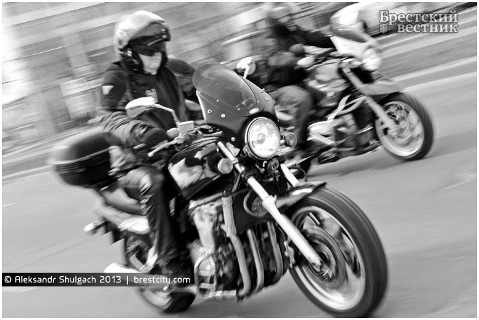 Открытие мотосезона 2013 в Бресте
