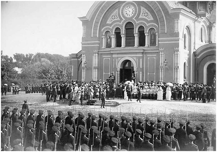 Праздник Бородинского полка. Посещение императора Александр III Брестской крепости