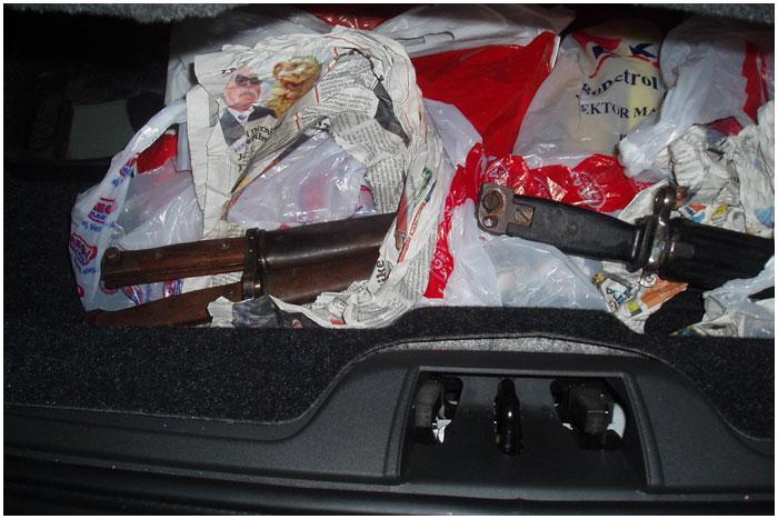 Раритетные ножи. контрабанда через границу