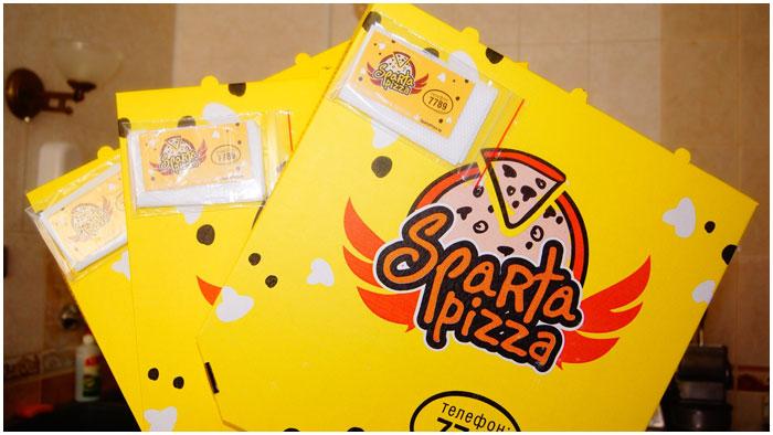 Доставка пиццы в Бресте. Спартапицца