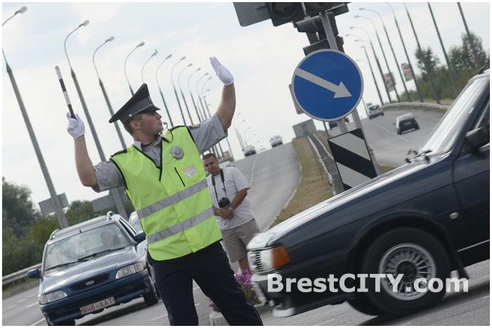 Регулировщик на перекрестке в Бресте. Конкурс
