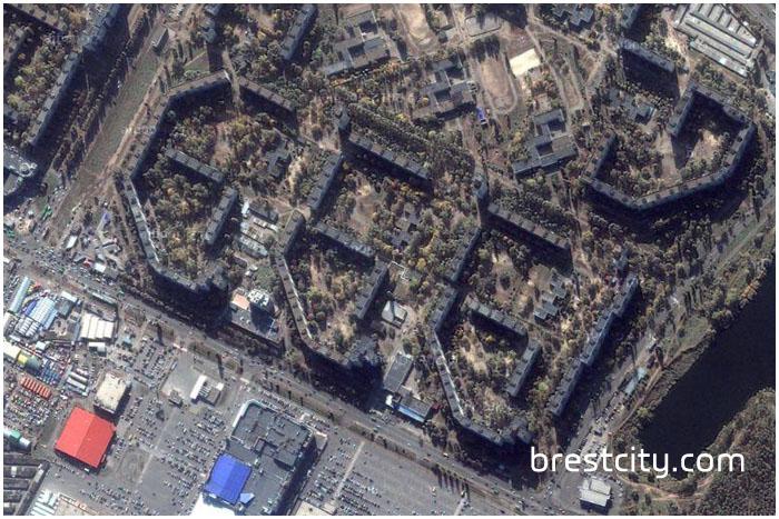 Микрорайон Салтовка в Харькове. 666