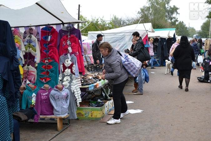 Рынок в Заболотье