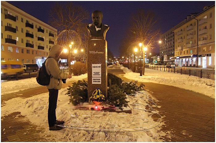 В Бресте почтили память погибших на Евромайдане
