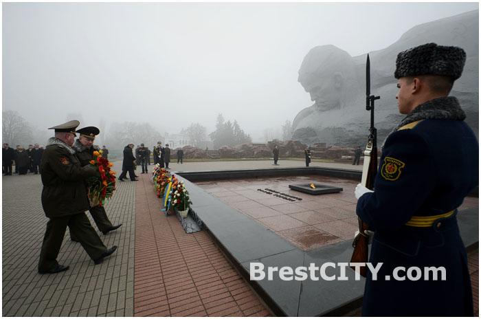 День защитников отечества в Брестской крепости 2014