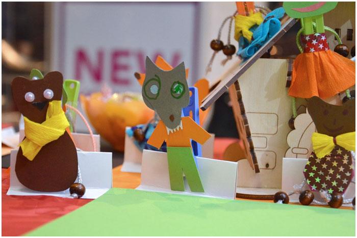 Мастер-класс для детей в торговом центре Галерея Гранд
