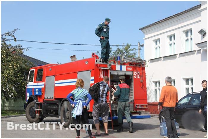 Авария  с водоснабжением в Бресте на Березовке и Граевке