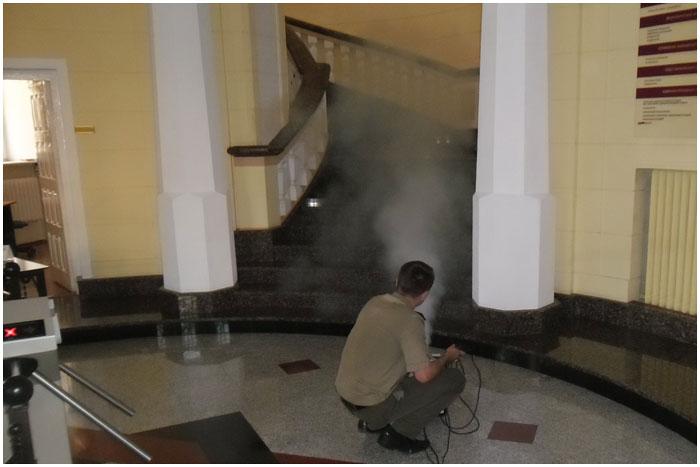 В Брестском банке эвакуировали работников