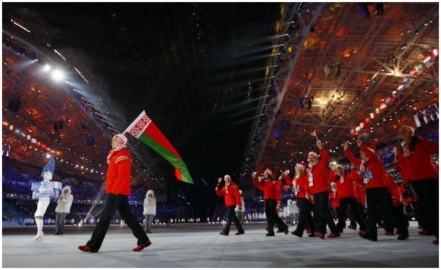 Беларусь на Олимпиаде в Сочи 2014. Делегация