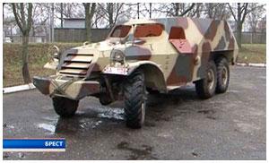 Брестчанин создал копию машину времен войны