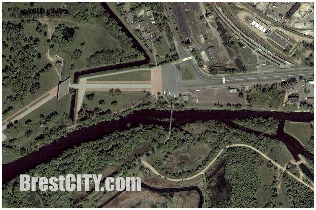 Спутниковая карта Бреста