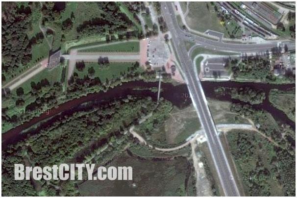 Спутниковая карта Бреста от