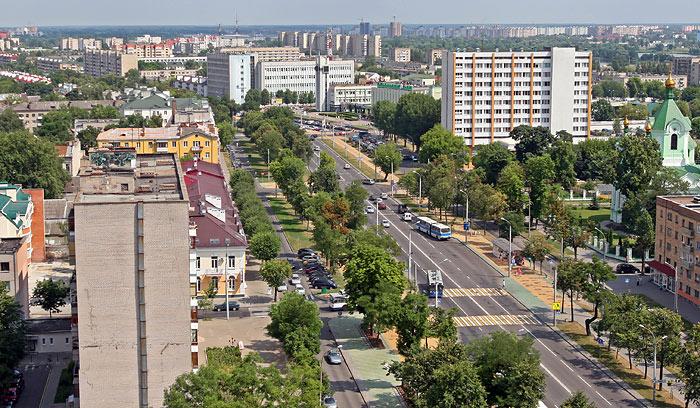 Брест. Центр города