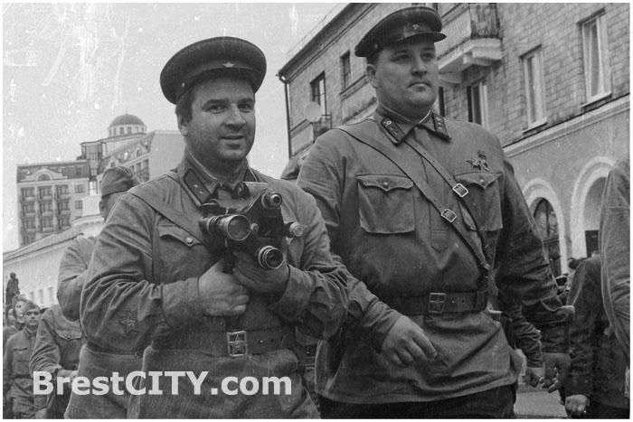 Реконструкция последнего мирного дня перед войной в Бресте на Советской