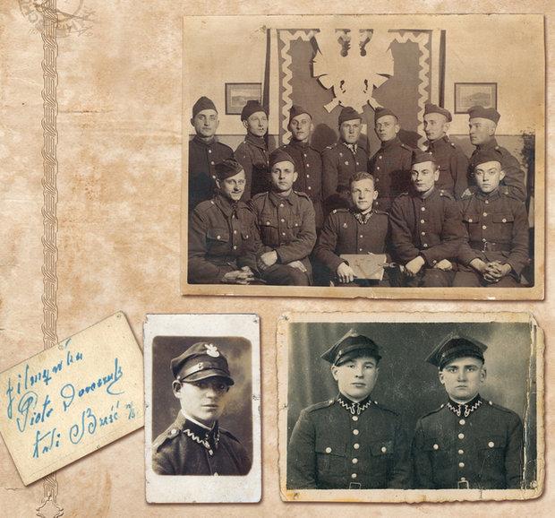 Солдаты польского гарнизона в Бресте-над-Бугом, 30-е годы.